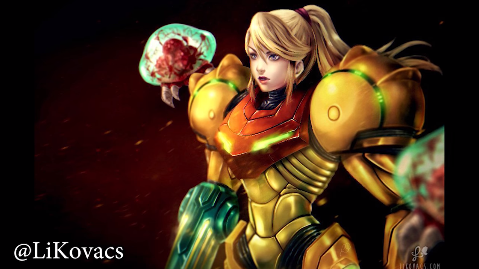 Metroid Samus Returns Fanart 6