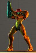 Samus modelo SSB WiiU