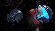 Kirby Samus Oscura SSBU