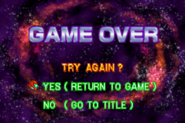 Game Over Screen MF