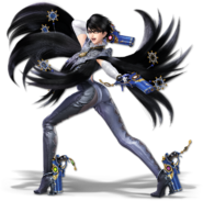 SSB Ultimate Bayonetta render
