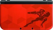 Samus Edition 3DS XL top