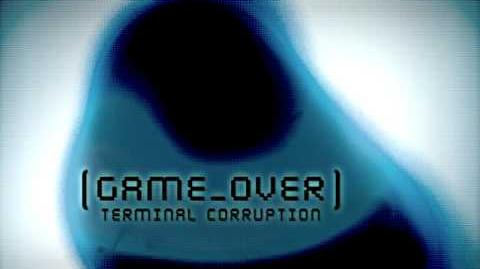 Metroid Prime 3 Corruption - Corruption Game Over Screen