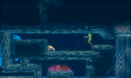 Metroid Samus Returns Diggernaut Wallfire poisonous plants