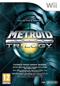Metroid Prime Trilogy - Boxart PAL