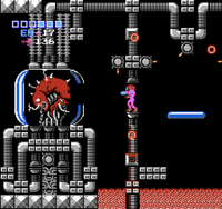 Metroid 1 Mother Brain screenshot