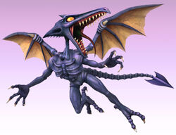 Ridley As He Appears In Super Smash Bros Brawl
