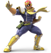 SSB Ultimate Captain Falcon render
