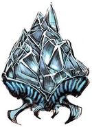 Arte oficial de un cristalito