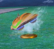 Nave Smash Final trofeo SSB WiiU