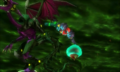 Samus saltando hacia el Pequeño desde Proteus Ridley 1 MSR