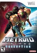 Metroid Prime 3 boxart