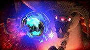 Ataque Espiral Samus Oscura y Kraid SSBU