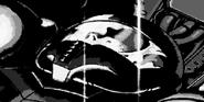 Samus desmayada en su nave MF