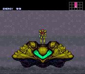 Super Metroid nave de samus