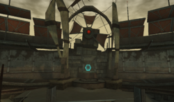 Agon Temple entrance