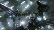 Ascensor en Ruinas Cíborgs Zebesianos flashback mom