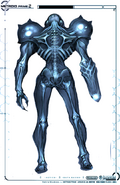 Dark Samus Design Rear MP2