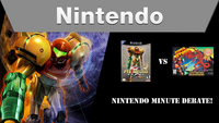 Nintendo Minute Debate - Super Metroid vs Metroid Prime