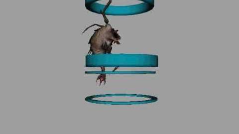 Parasite Queen Falling animation