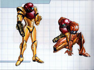 MSR Artbook Samus Power and Varia Suits (M2)