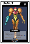 Samus Veteran SSB4 card