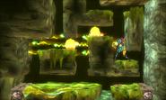 Samus Destroying the Steel Orbs in Area 5 MSR