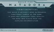 Matadora build screenshot