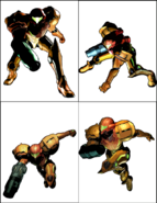 Samus model quad