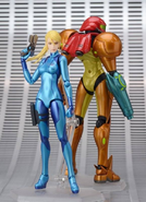 Zero Suit Samus Figma finished product