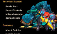 Samus Returns Queen Metroid credits