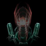 Señor de Lata holograma cabeza MP3