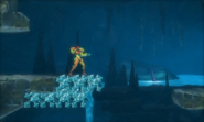 Metroid Samus Returns BigBug02 (1st Room) Leaving (Area 2)