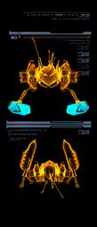 Robot de Combate Dragón escaneo izquierda mp3c