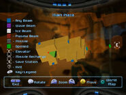 Main plaza map screen view dolphin hd