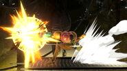 Samus Side Smash Attack SSBU