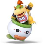 SSB Ultimate Bowser Jr render