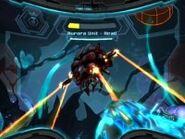 UA 313 atacando