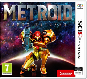 Metroid Samus Returns portada europea