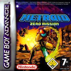 Metroid Zero Mission - Boxart PAL