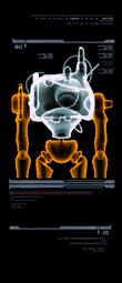 Robot de Latón escaneo izquierda mp3c