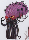 Mother Brain creature in Wreck-It Ralph