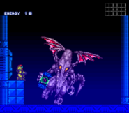Ridley Escaping from the Ceres SM