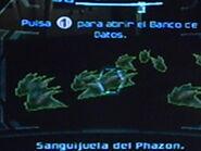 Escaneando un grupo de sanguijuelas del phazon