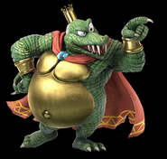 SSB Ultimate King K. Rool render