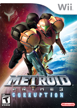 Metroid Prime 3 Corruption cover