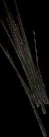 Modelo-hierba de las arenas