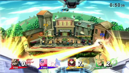 Nave de Samus Smash Final SSB WiiU
