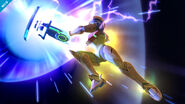 Samus Láser Zero SSB Wii U