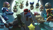 Samus in The Face of Evil (Bowser Jr. trailer) 4